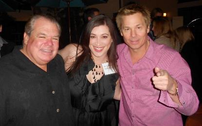 Bruce Mcnall, Tracey DeFrancesco, and Kato Kaelin