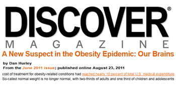 Discover Magazine a new suspect in the obesity epidemic our brains
