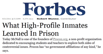 Forbes what high profile inmates learned in prison