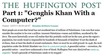 Huffington Post Part 1 genghis khan with a computer