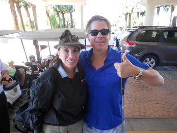 Kate Linder with Kato Kaelin
