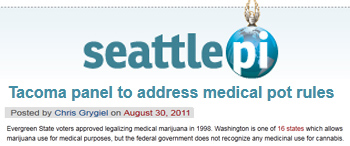 Seattle Post Intelligencer Tacoma-panel to address medical pot rules