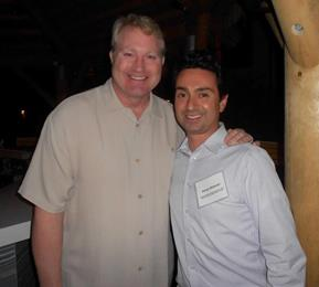 Kamy Akhavan with Marty McSorley