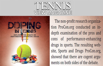 Tennis-View-Magazine Doping in tennis
