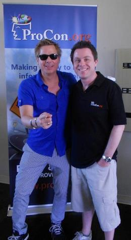 Kato Kaelin and Steven Jacobson